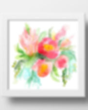Sparrow Studio flower art print. http://www.thesparrowstudio.com/print-shop/