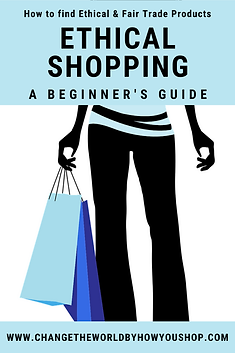 A Beginner's Guide to Ethical Shopping: How to Shop for Ethical & Fair Trade Products.
