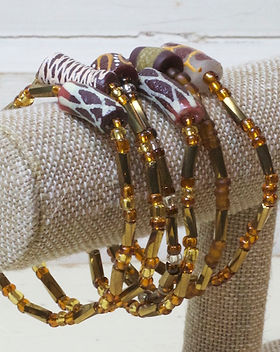 Eternal Threads Recycled Glass Painted Art Bead Bracelets Fair Trade. https://eternalthreads.org/product-category/jewelry/