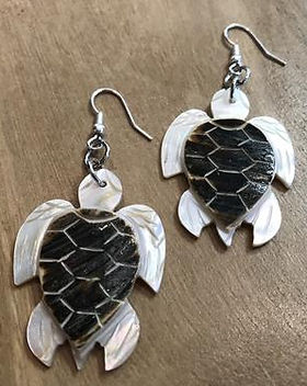 Shop with a mission turtle earrings $6. Handmade and fair trade jewelry. https://shopwithamission.com/collections/jewelry