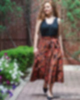 139Made black floral wrap skirt.jpg