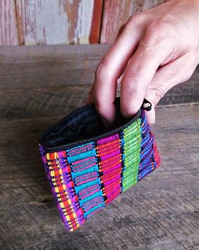International Blessings Guatemalan Coin Purse Fair Trade.