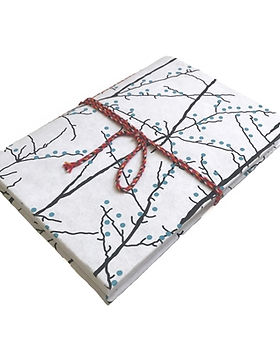 Gifts With a Cause cotton paper journal. Fair trade and made from upcycled cotton paper. https://www.giftswithacause.com/searchresults.asp?Search=journal