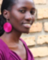 Azizi Life woven fair trade earrings from Rwanda. https://azizilife.com/products#jewelry