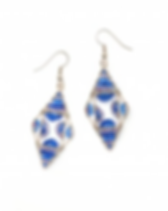 Dunitz & Co. Fair Trade Wire Diamond Earrings
