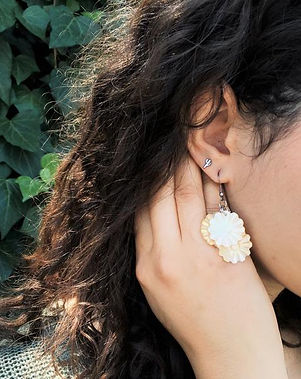 Shop With a Mission Mother of Pearl earrings. https://shopwithamission.com/collections/mothers-day
