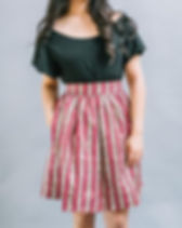 Trove women's skirt. Eco-friendly fashion that eliminates fashion waste. https://shop-trove.com/collections/all