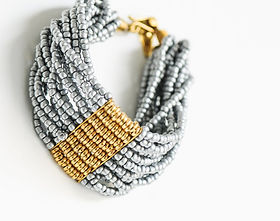 Amani Ya Juu Masaai Classic Bracelet. Fair Trade and handmade in Africa. https://amaniafrica.org/collections/jewelry