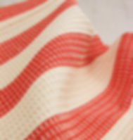 Rafiki Foundation Handwoven Striped Dish Towel that Gives Back to Support Widows in Africa.