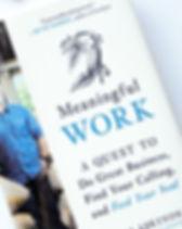 """Meaningful Work"" Book by Shawn Askinosie. The story behind Askinosie Chocolate. https://www.askinosie.com/book.html"