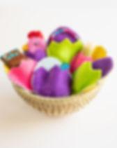 Mercy House Easter Egg Basket.