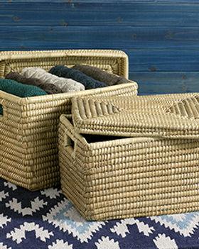 Serrv nesting baskets. Fair trade. https://www.serrv.org/category/baskets