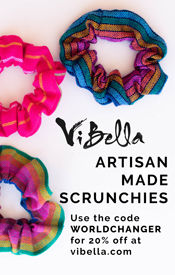 Vi Bella Artisan Made Scrunchies