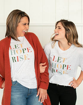 Mercy House Global Let Hope Rise Fair Trade T-shirt.