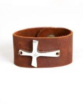 Lazarus Artisan Goods leather wrap bracelet. Ethically made in Haiti. https://lazarusartisangoods.com