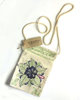 Persona Grata Goods cell phone purse. Handmade by refugee moms. https://www.etsy.com/shop/PersonaGrataGoods?section_id=20231381
