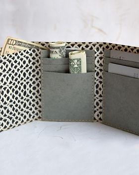 Ten Thousand Villages Photographic Wallet. Fair trade and handmade.