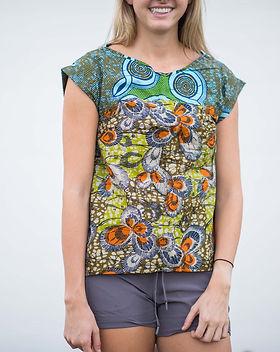 Amani Ya Juu Fair Trade Women's Shirt https://amaniafrica.org/collections/clothing