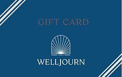 Welljourn $25 Gift Card