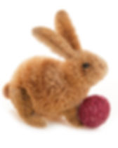 Serrv buri bunny with egg. Fair trade Easter gifts. https://www.serrv.org/category/easter-gifts