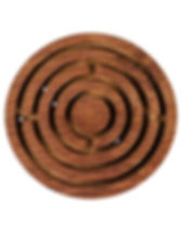 Sewing God's Seeds labrinth game. Fair trade woode toy. https://sewinggodsseeds.com/market?category=Home+Goods