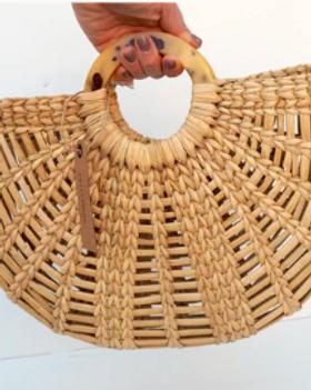 Made Trade Fair Trade Straw Handbag