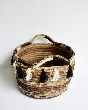 Solo Hope Tassel Magazine Basket.