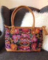 Elegance Restored Guatemalan Shoulder Bag. Ethically handmade. https://www.elegancerestored.com/collections/bags