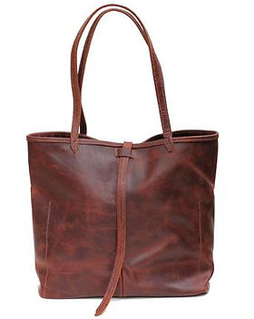 Lazarus Artisan Goods leather tote, ethically-made in Haiti. https://lazarusartisangoods.com/collections/leather-totes-and-bags