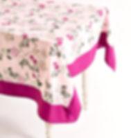 Imagine Goods summer floral tablecloth.