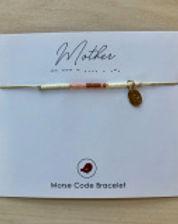 Little by Little Mother's Day morse code bracelet. http://www.littlebylittle.ca/store/p326/Morse_Code_Bracelet.html