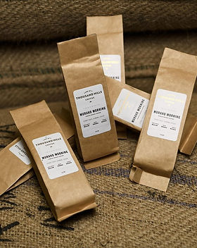 Land of a Thousand Hills Coffee Favor Bags.