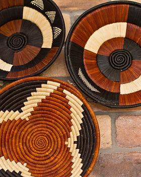 Eternal Threads fair trade baskets.  Handwoven in Uganda by Rosemary. https://eternalthreads.org/product/rosemarys-basket/