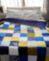 Amani Ya Juu fair trade pathwork quilt. https://amaniafrica.org/collections/quilts