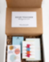 Mercy House teacher appreciation fair trade gift box.