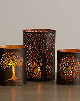 Serrv fair trade lanterns and candle holders. https://www.serrv.org/category/s?keyword=candle