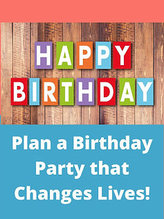 Birthday Parties that Change Lives: Fair Trade & Give Back Party Decor