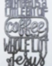 Market Haiti coffee and Jesus metal wall art. https://markethaiti.com/collections/metal-art