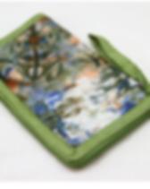 Rafiki Foundation Batik Pasport Cover Handmade by Widows in Africa.