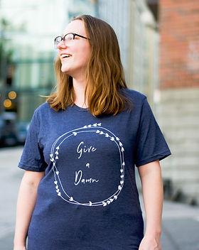 Give a Damn Goods Women's T-shirt.jpg
