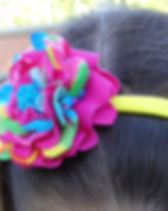 Partners for Just Trade Girls Flower Hairband. Fair trade.