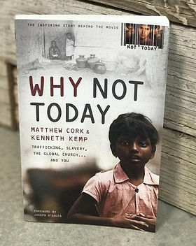 """""""Why Not Today"""" book by Matthew Cork & Kenneth Kemp tells how one church was transformed by partnering with the Dalit people in India to bring education to their children. https://shopwithamission.com/search?q=book"""