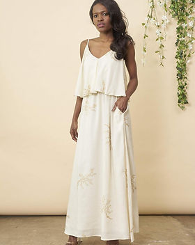 Made Trade Symbology Ethically Made Wedding Dress.