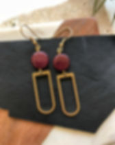 Sela Designs Kara Earrings that give back 100% of the profit to charity! Made in the USA out of ethically-sourced materials. https://www.seladesigns.com/