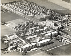 Bata factory and living complex in East