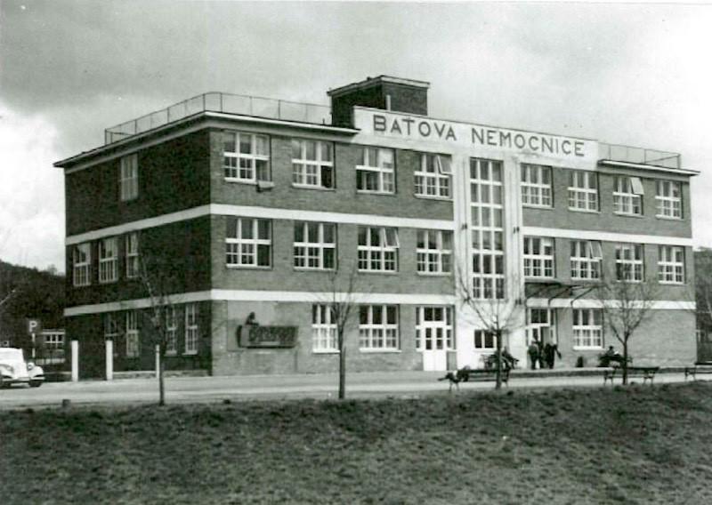 Bata's 1st hospital building, Zlin, 1927