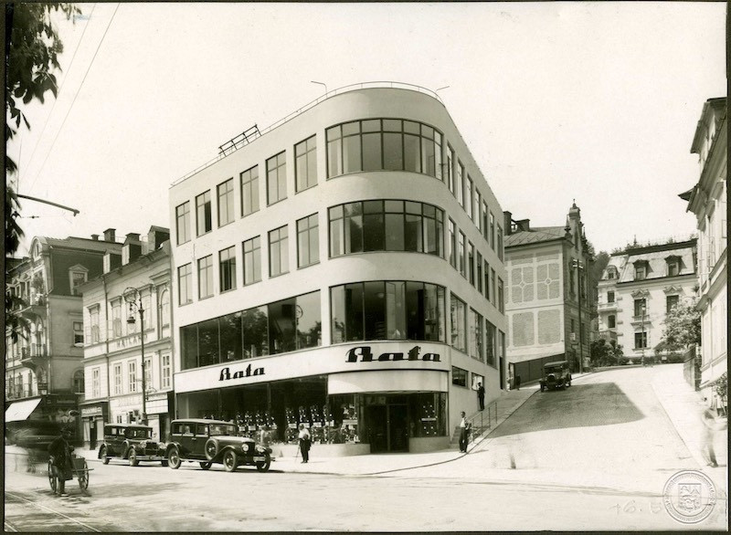 Bata department store in Marianske lazne