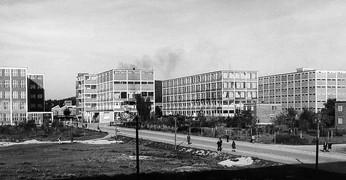 Bata factory and living complex in Batiz