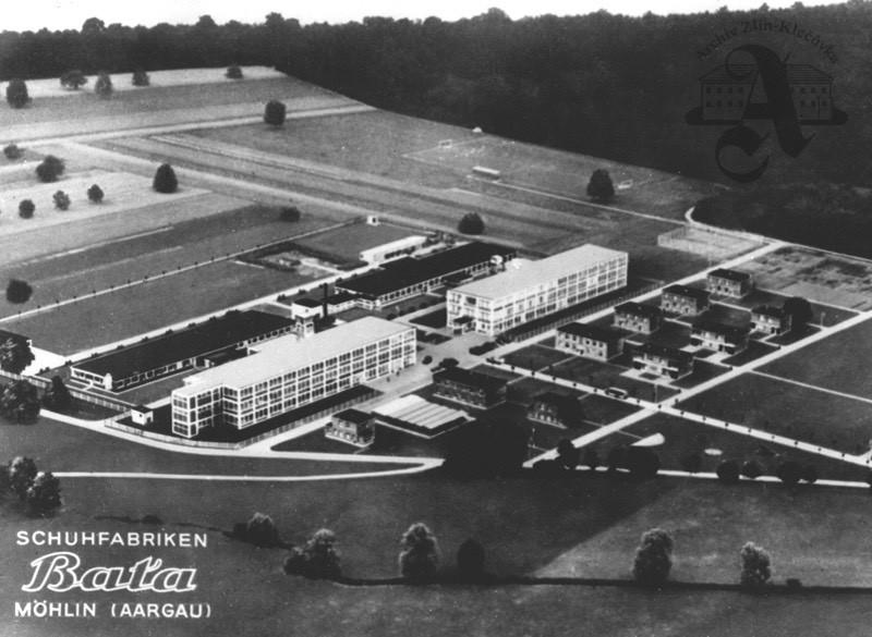 Bata factory and living complex in Mohli