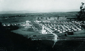 Bata factory and living complex in Batov